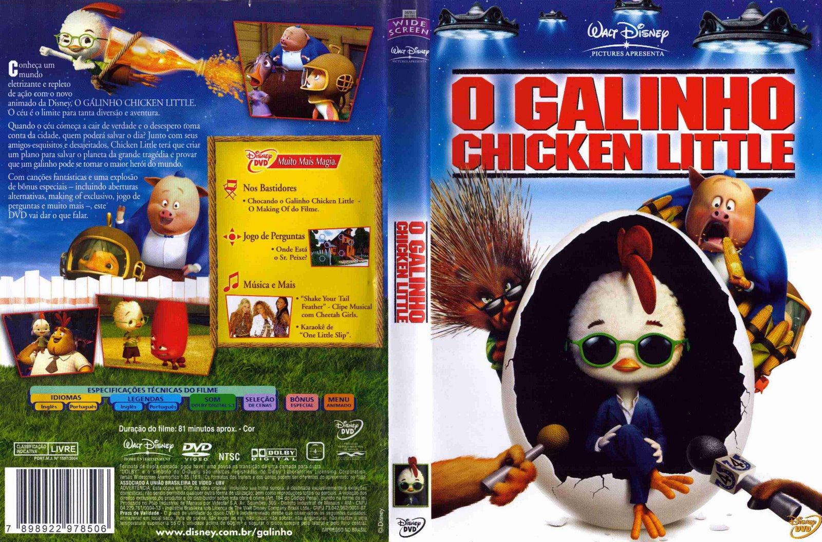 O Galinho Chicken Little Visitem Www Coversblog Com Br