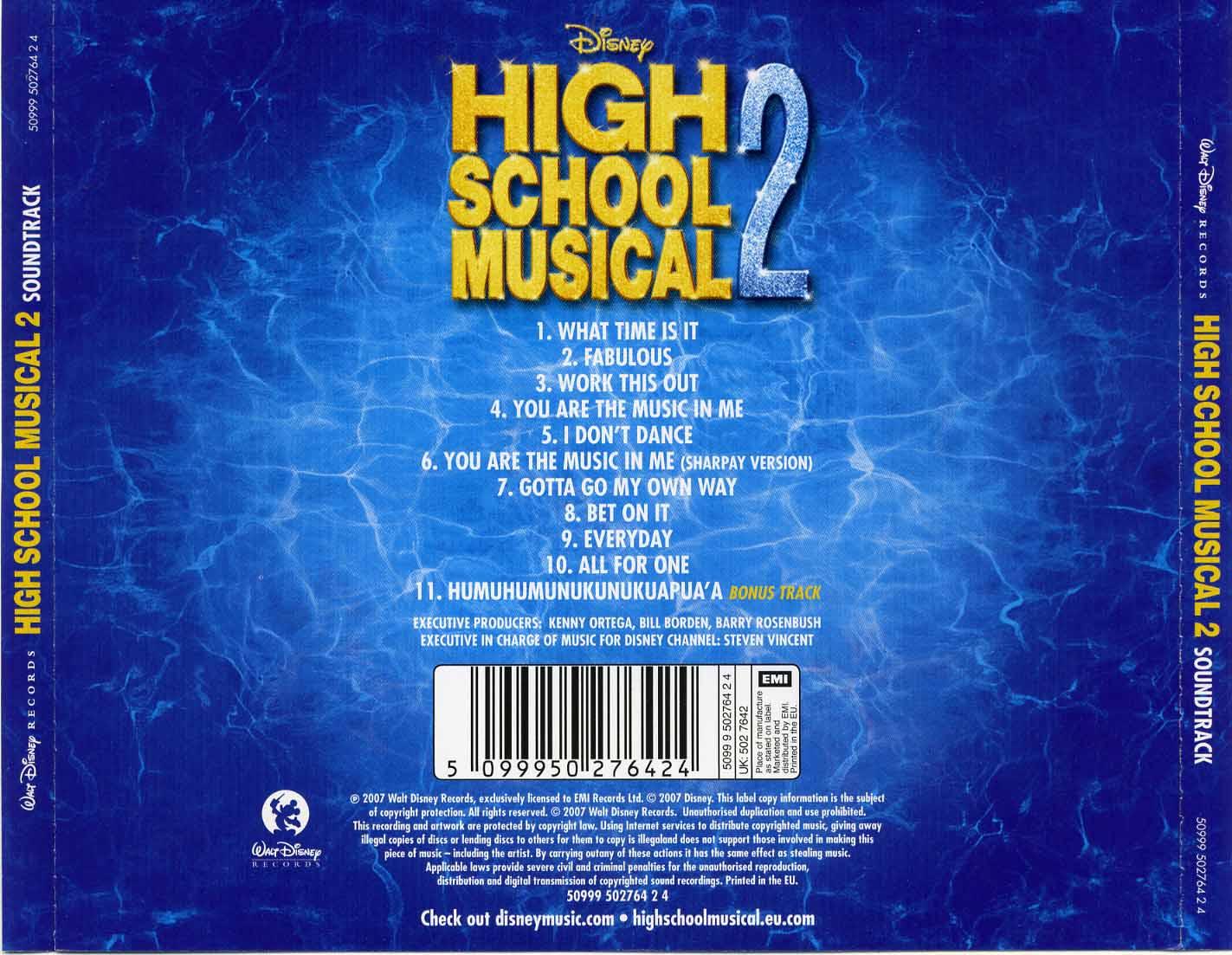 MegaPost High School Musical CoversBlogCD