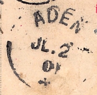 Aden, 2. Juli 1901