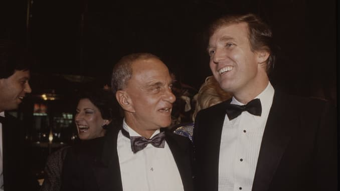 FBI releases file on Trump's late lawyer Roy Cohn