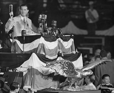 Robert E. Hannegan opening the convention