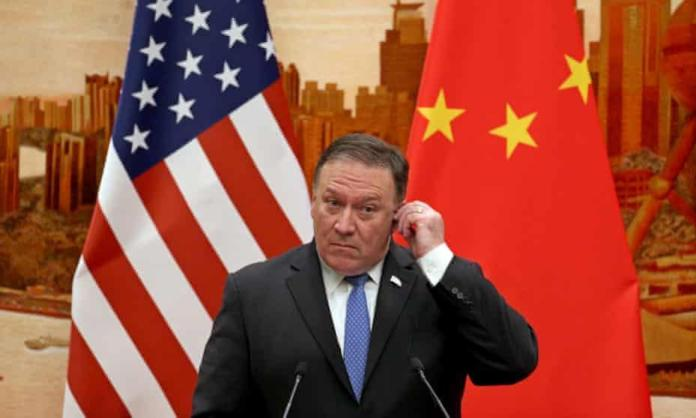 The US secretary of state, Mike Pompeo, on China: 'The free world must triumph over this new tyranny.'
