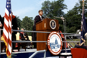 JFK's AU Speech: 50 Years Forward on Peace   American University,  Washington, D.C.