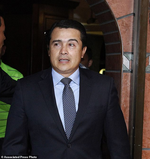 Juan Antonio 'Tony' Hernandez (pictured in 2017) was convicted in a massive drug conspiracy case in a New York City federal court in October 2019. He is the brother of Honduras PresidentJuan Orlando Hernández
