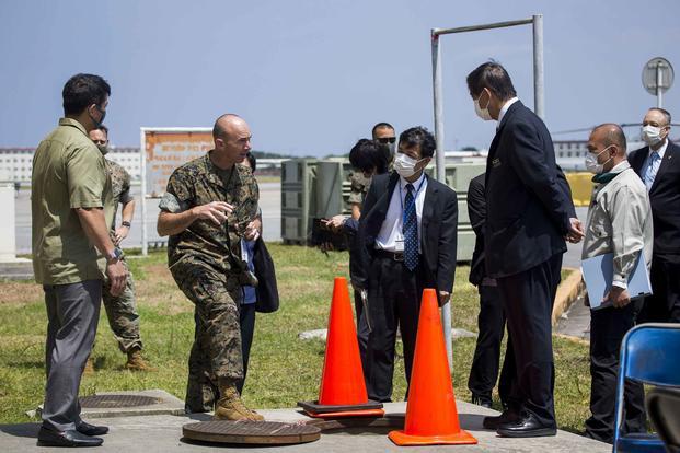 Marine General Apologizes for Massive Firefighting Foam Leak on Okinawa | Military.com