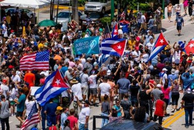 Biden Says U.S. Stands With the Cuban People Following Protests