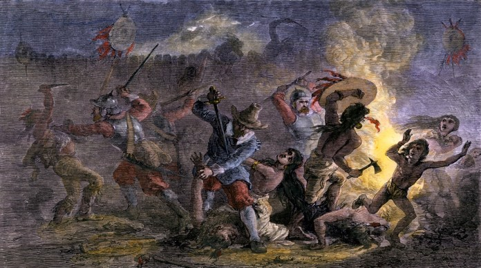 Pequot War | History, Facts, & Significance | Britannica