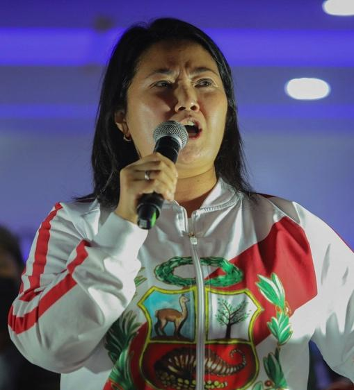 With election fraud claims, Peru's Keiko Fujimori takes a page from the Trump playbook - The Boston Globe