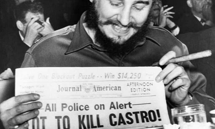 Cercano pero sin puro: cómo Estados Unidos no logró matar a Fidel Castro |  Fidel Castro |  El guardián