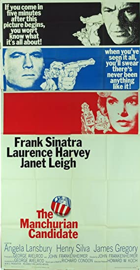 The Manchurian Candidate (1962) Original Movie Poster FRANK SINATRA Film Directed by JOHN FRANKENHEIMER at Amazon's Entertainment Collectibles Store