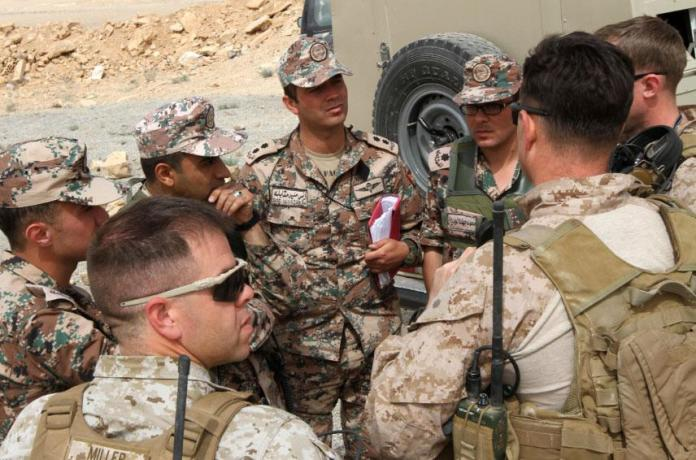 A picture containing person, military uniform, outdoor, people Description automatically generated