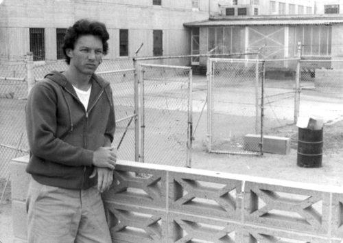 (courtesy of Chris and Cait Boyce) Chris Boyce in Lompoc Penitentiary in 1980.