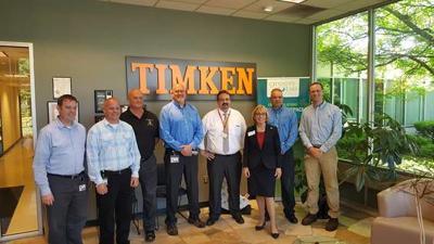 Sen. Maggie Hassan visits Timken Aerospace