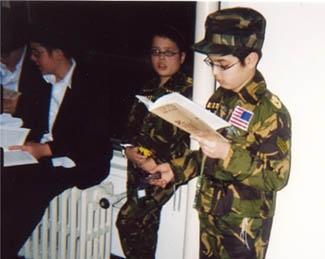 A picture containing person, military uniform  Description automatically generated