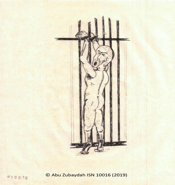 Abu Zubaydah drawing