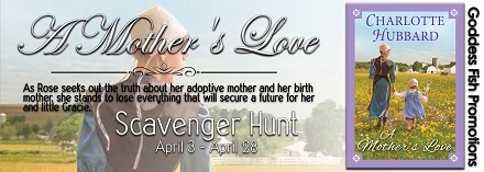Goddess Fish Promotions VBB Review + Scavenger Hunt:  A Mother's Love by Charlotte Hubbard