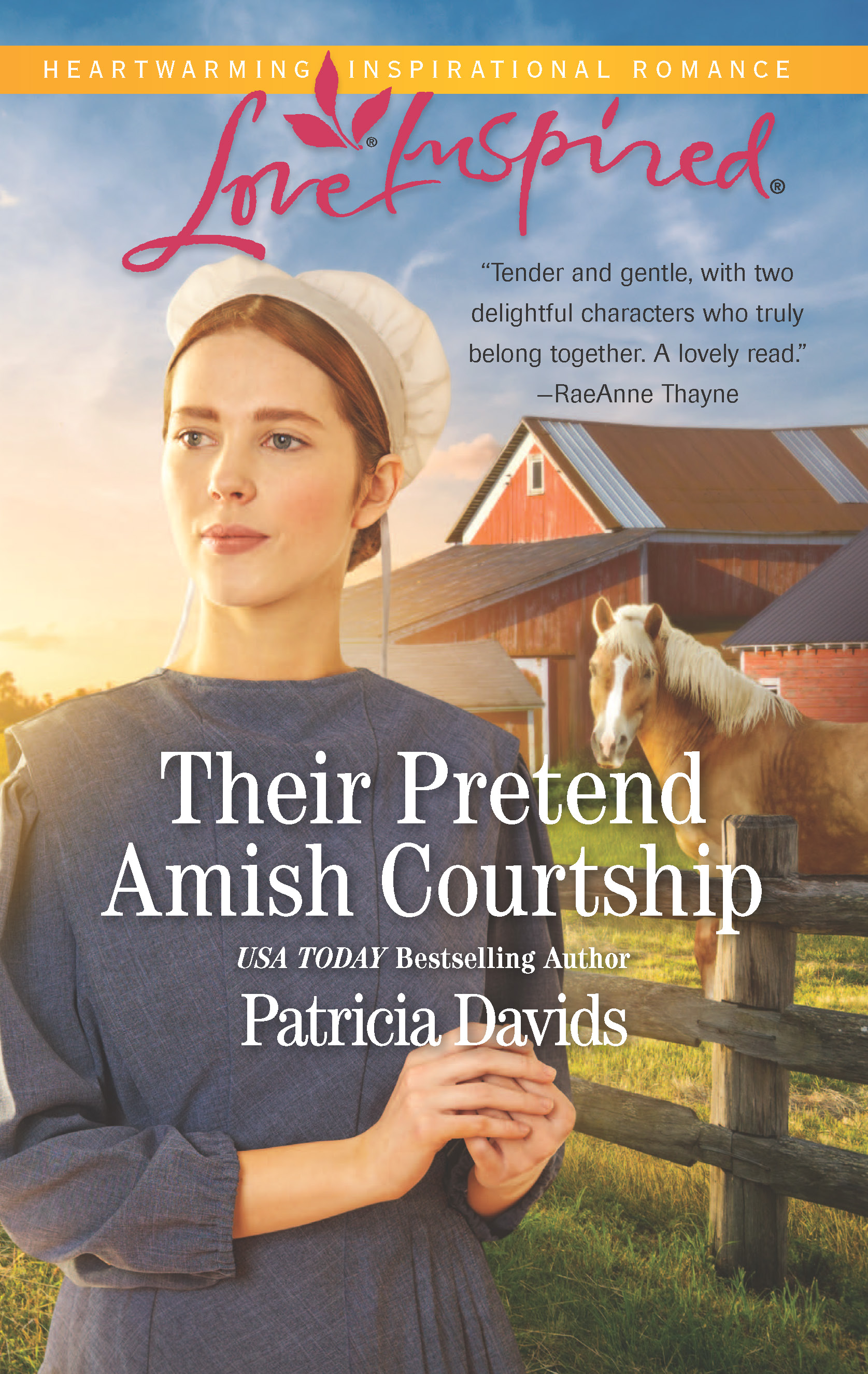 BookTrib Blog Tour Review: Their Pretend Amish Courtship by Patricia Davids