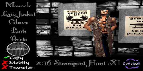 Steampunk Hunt XI--Men's gift from COVETED!