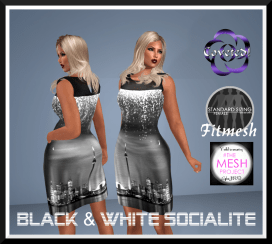 Black & White Socialite
