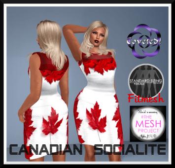Canadian Socialites Dress