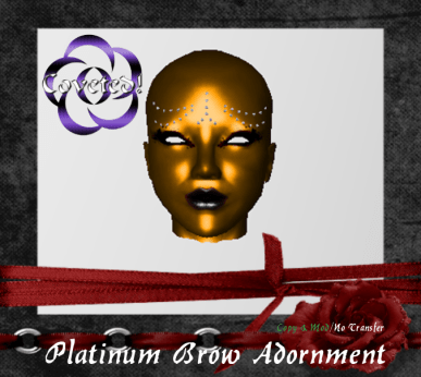 Platinum Brow Studs