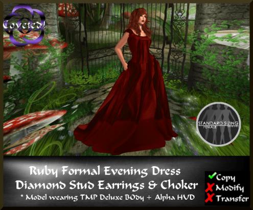Ruby Formal Evening Dress