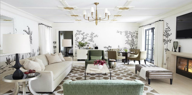 Top 10 interior designers in the usa for Famous interior designers nyc