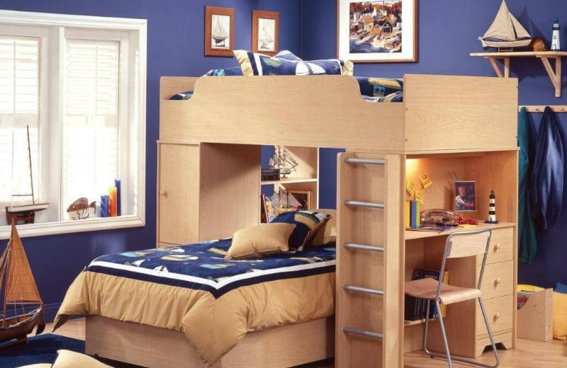 Wonderful Ideas Of Twin Beds For Boys