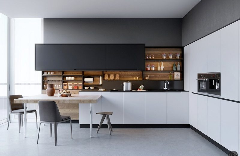 Modern White Kitchen Decor Ideas for 2020 - Covet Edition on Modern Kitchen Ideas  id=70457