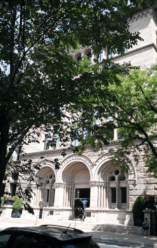 The Newberry's facade.