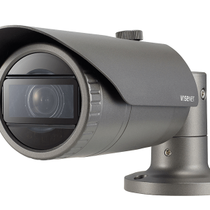 SAMSUNG 4MP Network IR Bullet Camera motorized varifocal lens . POE