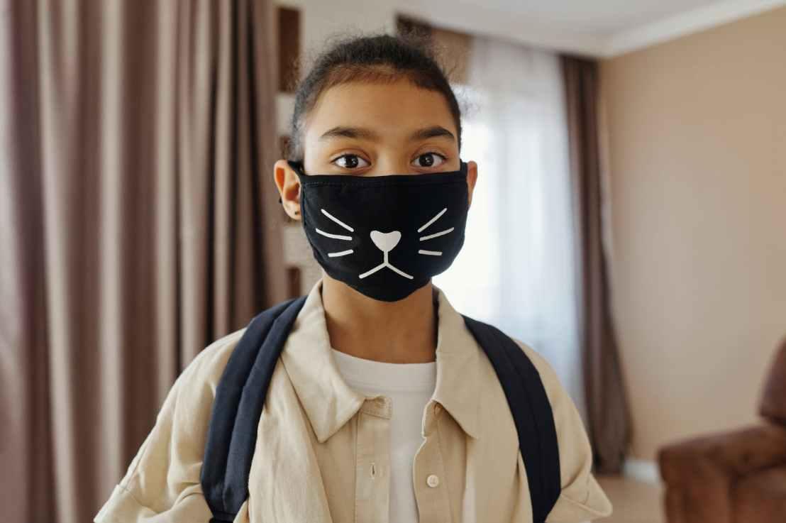 """Making face masks comfortable for children""."