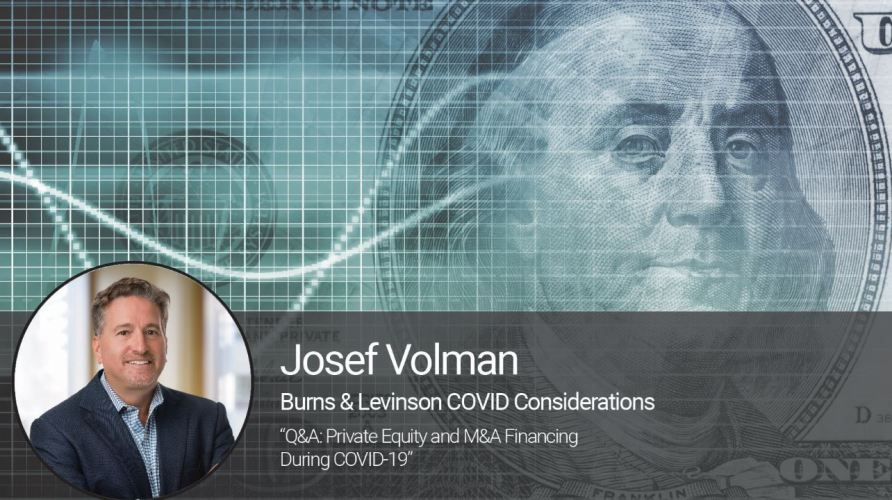 Q&A: Private Equity and M&A Financing During COVID-19