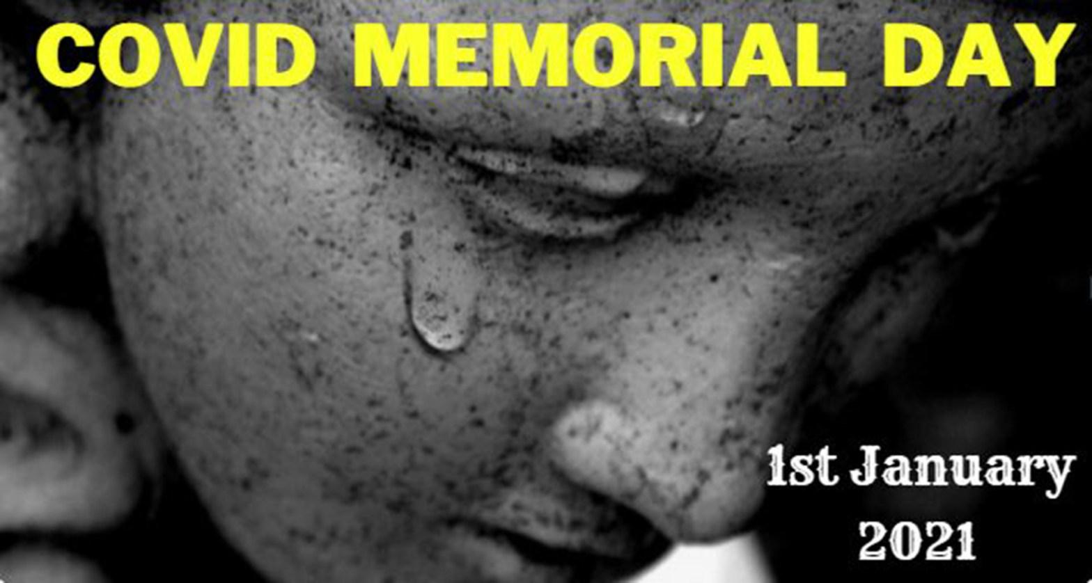 Covid memorial Day 1st jan 2021