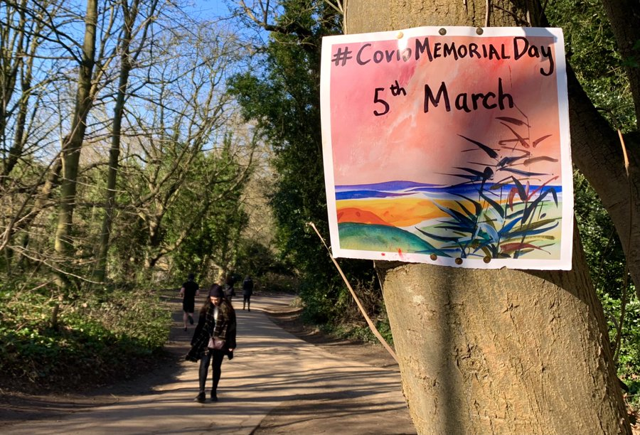 covid memorial Day March 5th