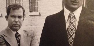 Lt. William J. Calley Jr. and J. Houston Gordon
