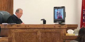 Ronnie Gorton's arraignment