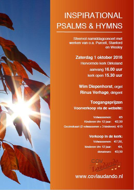 affiche 1 oktober 2016 psalmenconcert