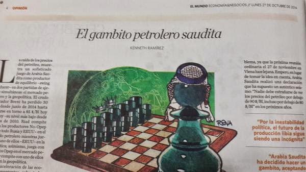 El gambito petrolero saudita – Por El gambito petrolero saudita