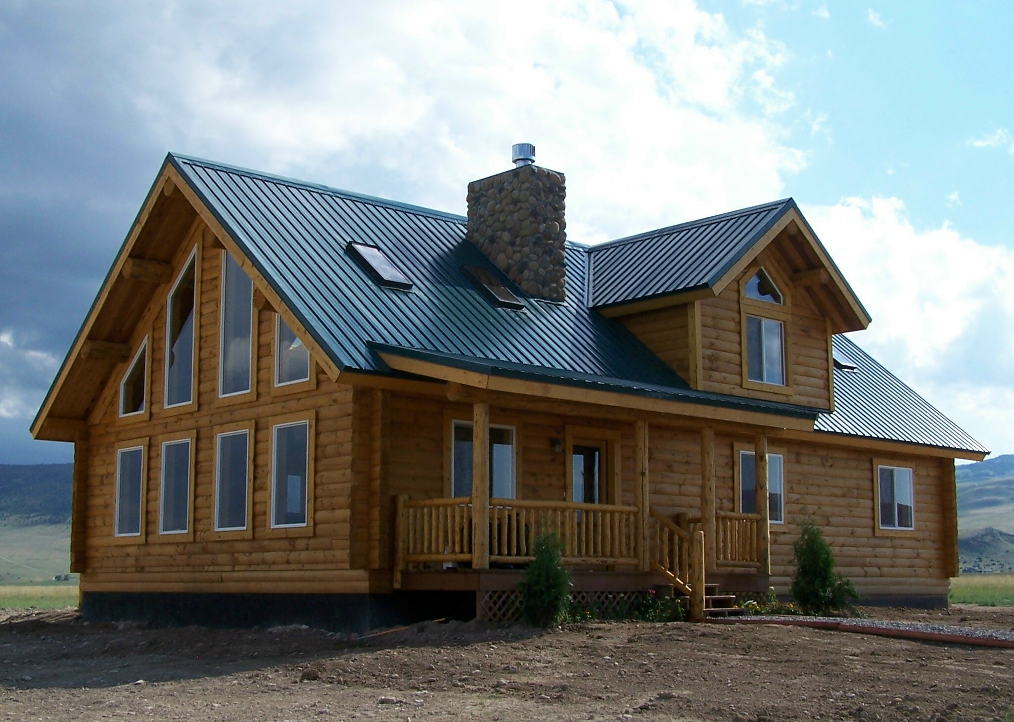 Log Homes 1000 To 2000 Square Feet Cowboy Log Homes