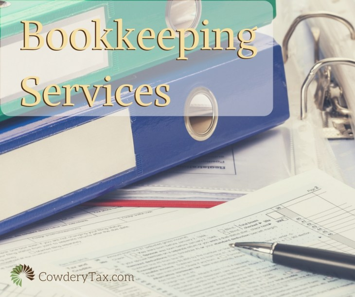 Bookkeeping Services for Small Businesses | CowderyTax.com