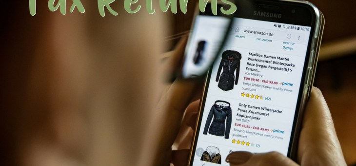 Online Purchases and Your Tax Return