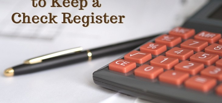 Best Ways to Keep a Check Register