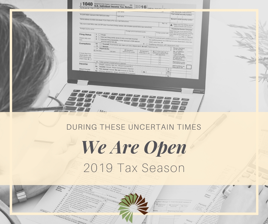 We are Open as Essential Business | Cowdery Tax and Business Solutions