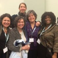 AWP 2015 Midwest Poetics Panel, with Brenda Cardenas, Margaret Rozga, Wendy Vardaman, Fabu, and Kimberly Blaeser (also pictured, Nick Demske)