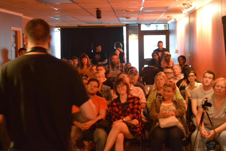 Bonk!'s 100 Thousand Poets for Change event, 2015