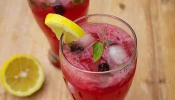 Blackberry-Basil-Lemonade-Drink