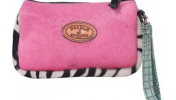 Pink-hair-on-hide-cosmetic-case