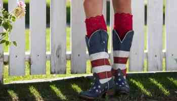Cowboy boots for July 4th