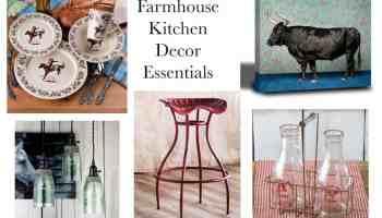 farmhouse kitchen decor essentials